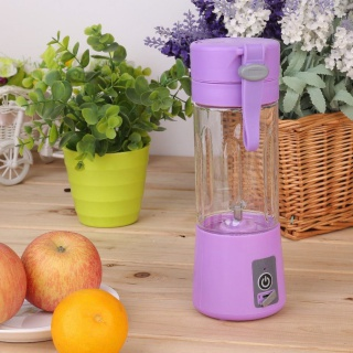 USB smoothie mixer - fioletowy