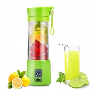 USB smoothie mixer - zielony