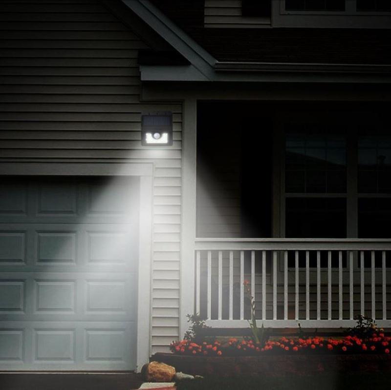 Solarne Led Oświetlenie Z Czujnikiem Ruchu Artykuły Gospodarstwa Domowego Xdomowopl